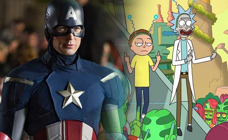 Captain America Chris Evans Gives Rick and Morty His Stamp of Approval