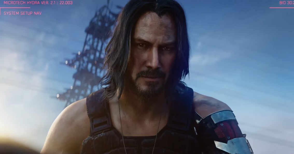 Cyberpunk 2077: New Trailer Confirms Keanu Reeves is in the Game!