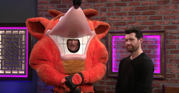 Clueless Gamer has Conan and Billy Eichner Try Out Crash Team Racing: Nitro-Fueled
