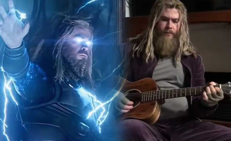 Avengers Endgame: Watch Fat Thor Cover Johnny Cash's Version of 'Hurt'