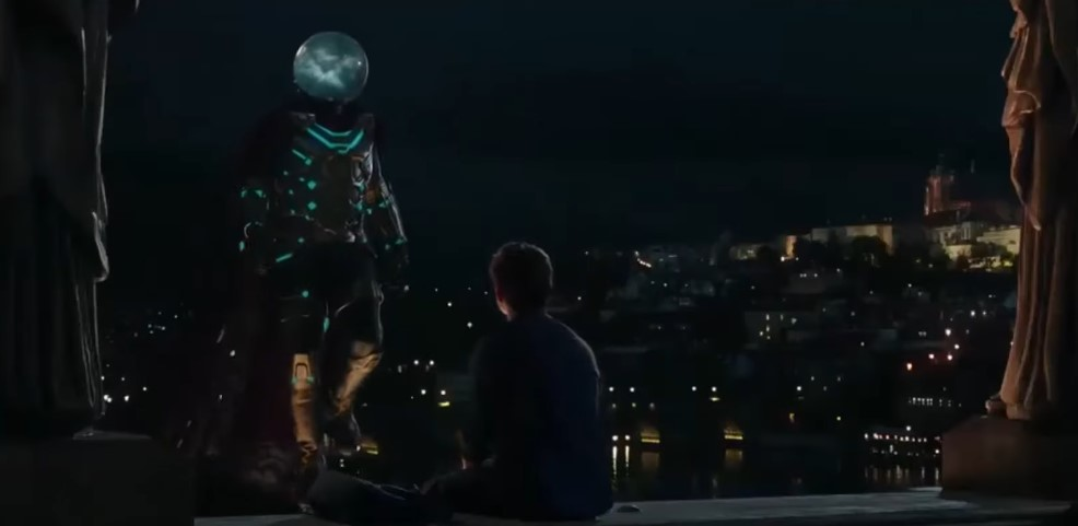 Spider-Man and Mysterio have a Pep Talk in New Clip from Far from Home