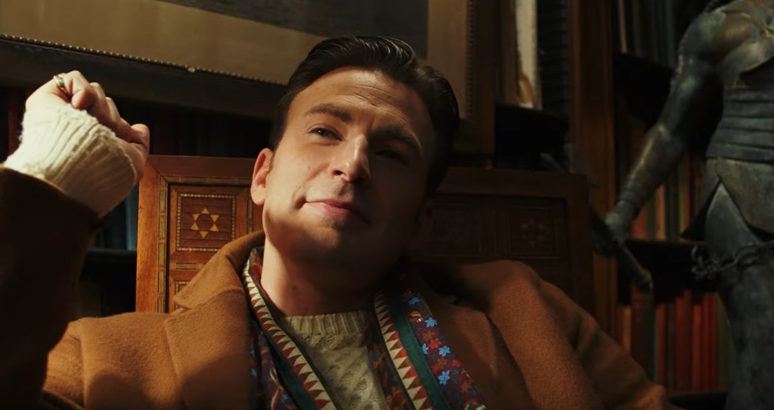 Chris Evans Steals the Spotlight in Trailer for Rian Johnson's Knives Out