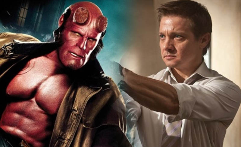Jeremy Renner was Once in Line to Play Hellboy for Guillermo del Toro