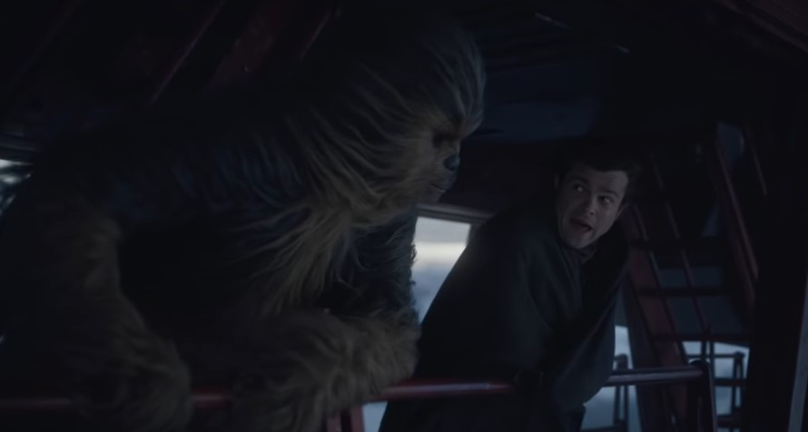 Solo: A Star Wars Story's Chewbacca Actor Talks Deleted Scene