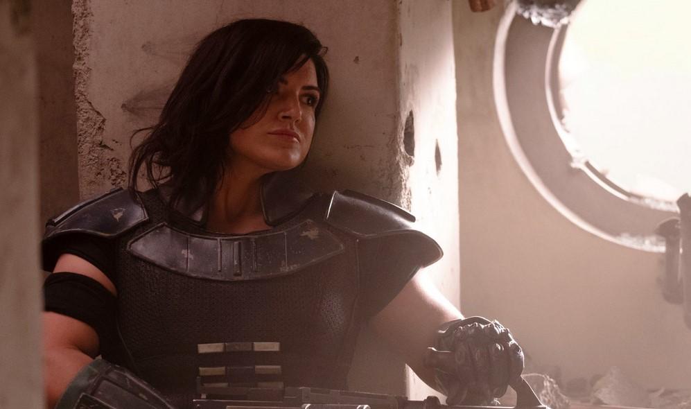 The Mandalorian's Gina Carano Protests Censorship with Nude Photo