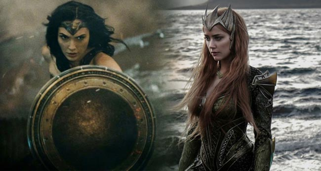 Gal Gadot's Flashpoint Wonder Woman Faces Down Mera In Stunning Fanart