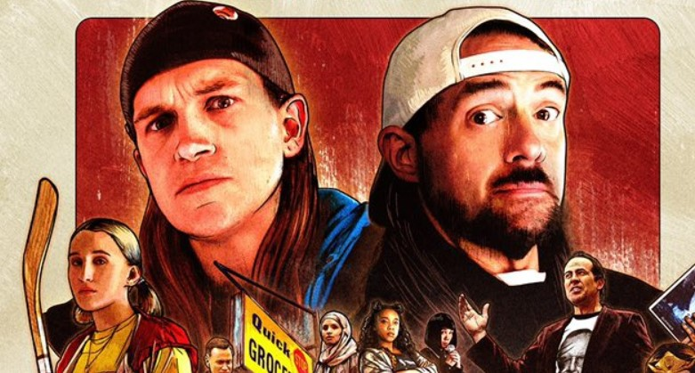 Kevin Smith Shares Official Hand-Drawn Jay and Silent Bob Reboot Poster