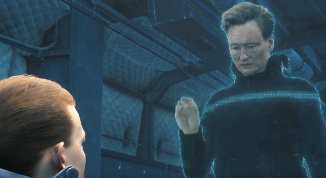 Hideo Kojima put Conan O'Brien in Death Stranding