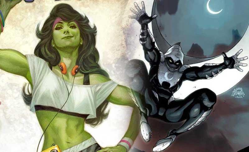 Marvel Finds Showrunners for She-Hulk and Moon Knight