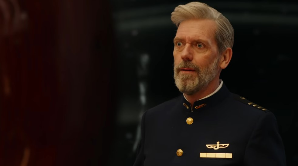 Hugh Laurie Runs a Luxury Cruise Space Ship in Trailer for Avenue 5