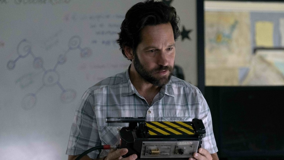Check Out Paul Rudd in New Stills for Ghostbusters: Afterlife