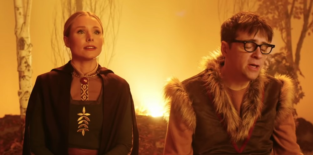 Frozen II: Weezer (ft. Kristen Bell) Recreates Kristoff's 'Lost in the Woods'
