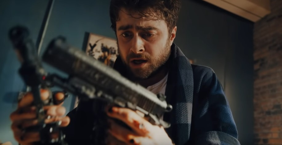Daniel Radcliffe Is Wild in Crazy Trailer for Guns Akimbo