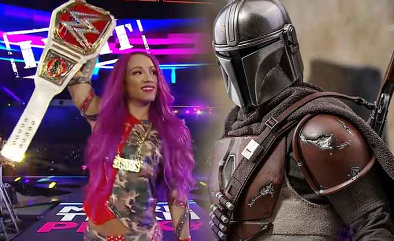 WWE's Sasha Banks will Reportedly Appear in The Mandalorian 2