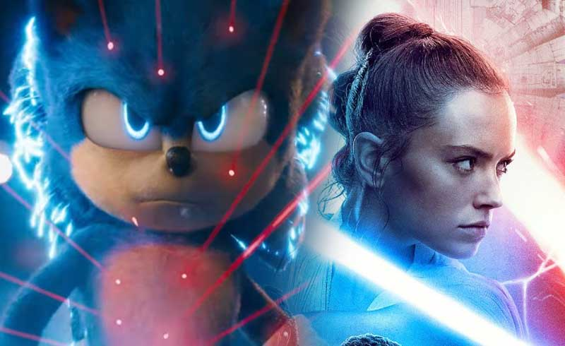Sonic The Hedgehog Beats The Rise of Skywalker's RT Score