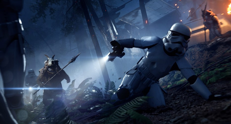 Star Wars Battlefront II is Bringing Ewoks to the Battlefield