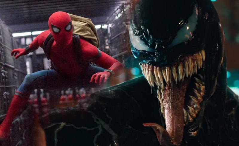Tom Hardy Once Again Deletes a Venom v Spider-Man Post
