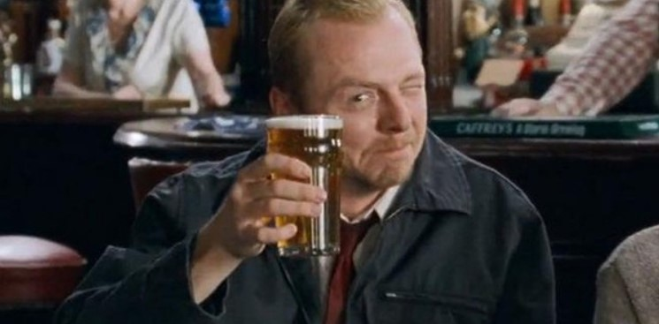 Simon Pegg and Nick Frost Recreate Shaun of the Dead Survival Plan for Coronavirus Outbreak