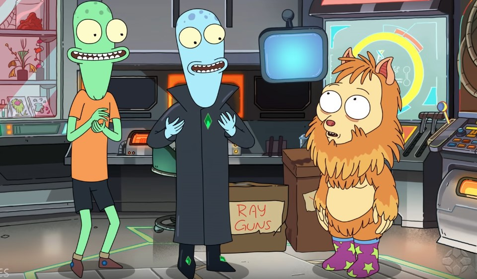 Watch New Trailer for Justin Roiland's Solar Opposites