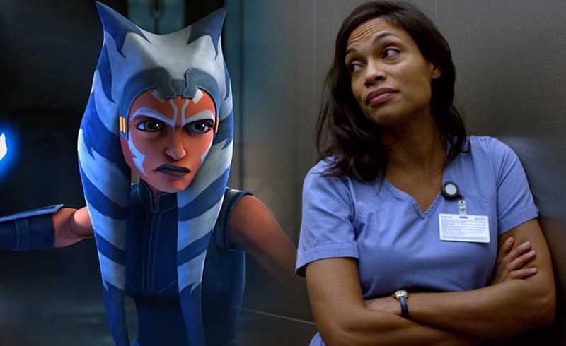 God of War Art Director Shares Fanart of Rosario Dawson's Ahsoka