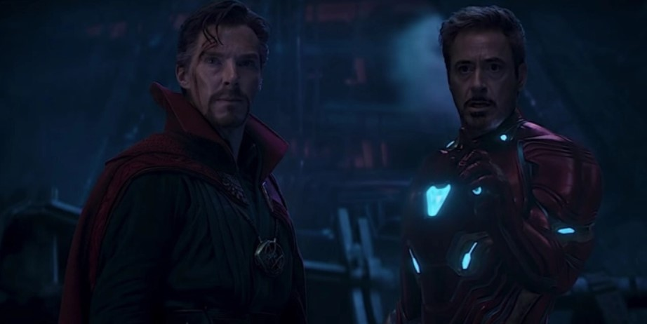 Avengers: Infinity War BTS Photo has Doctor Strange Wearing Iron Man's Armor
