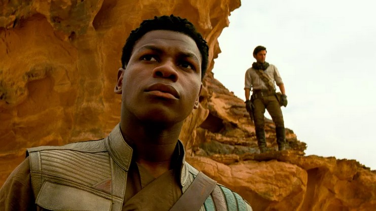 Is Disney Trying to Distract from John Boyega's Crticism with the Mandalorian Reveal?