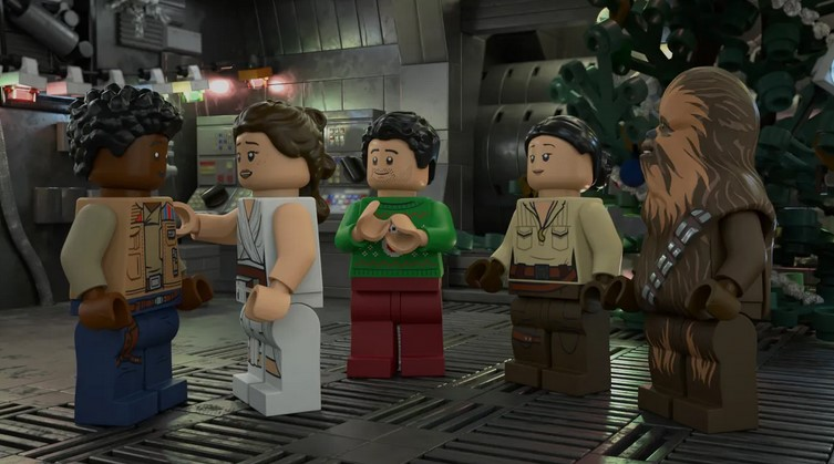 Disney Drops First Poster for The LEGO Star Wars Holiday Special