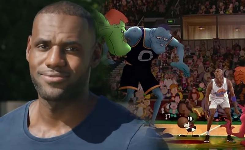 LeBron James Gives Heartfelt Speech to Crew of Space Jam 2 on His Last Day of Shooting