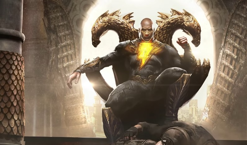 DC FanDome Drops Teaser for Black Adam