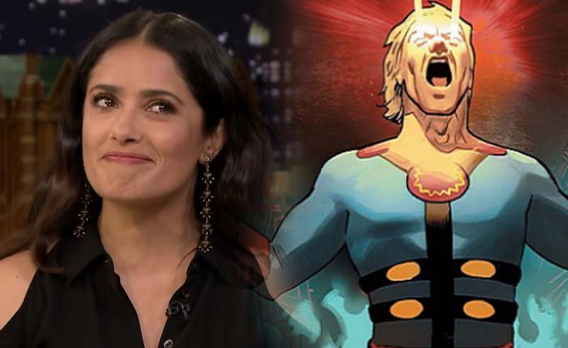 New Look at Salma Hayek's Ajak in Marvel's Eternals