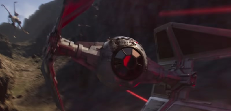 Hunted: Amazing CG Short for Star Wars: Squadrons is a Scene Out of Rogue One