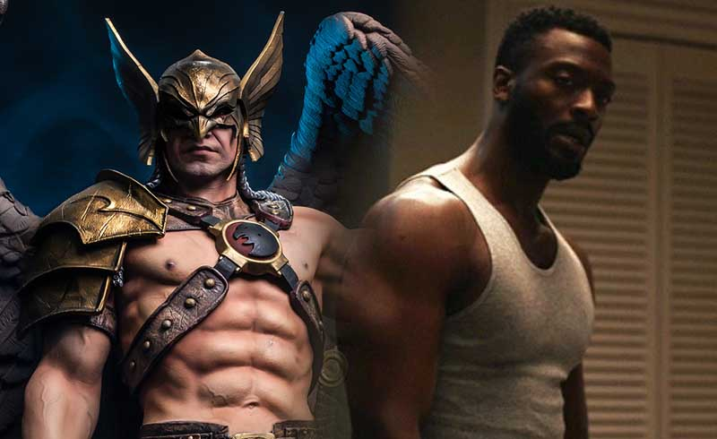 Black Adam Fanart Imagines Aldis Hodge as the DCEU's Hawkman