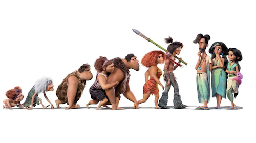 Croods Dive Into Evolution in The Croods 2 Trailer