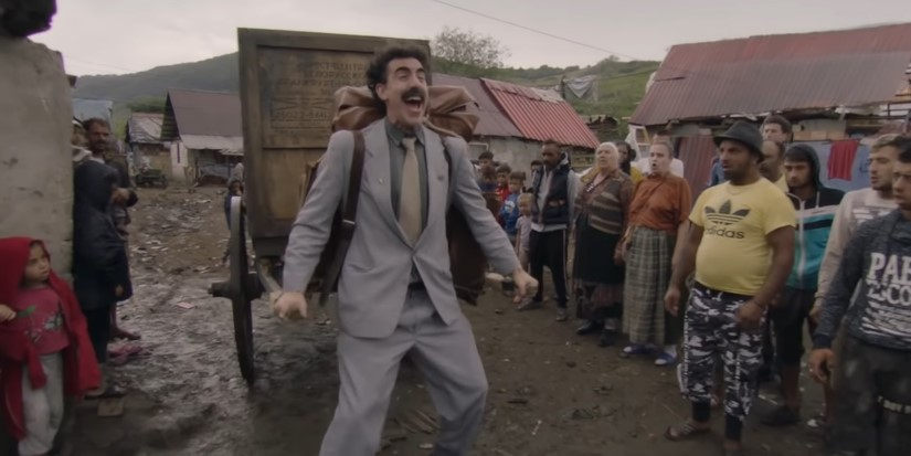 Sacha Baron Cohen is Back in New Trailer for the Borat Sequel