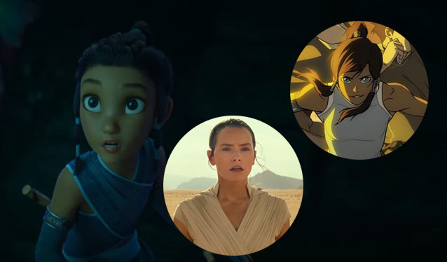 Fans Think Raya and The Last Dragon Look at Lot Like Avatar and Star Wars