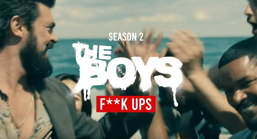 Watch The Gag Reel for the Second Season of The Boys