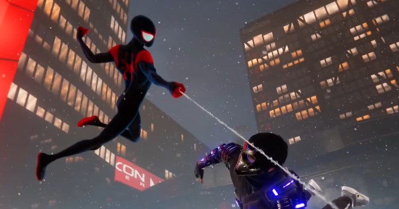 Spider-Man: Miles Morales Reveals Into the Spider-Verse Suit