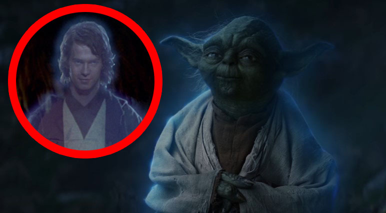 The Last Jedi: Rian Johnson Almost had Anakin Visit Luke Instead of Yoda