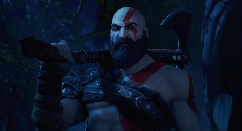 Fortnite Reveals God of War Kratos Skin