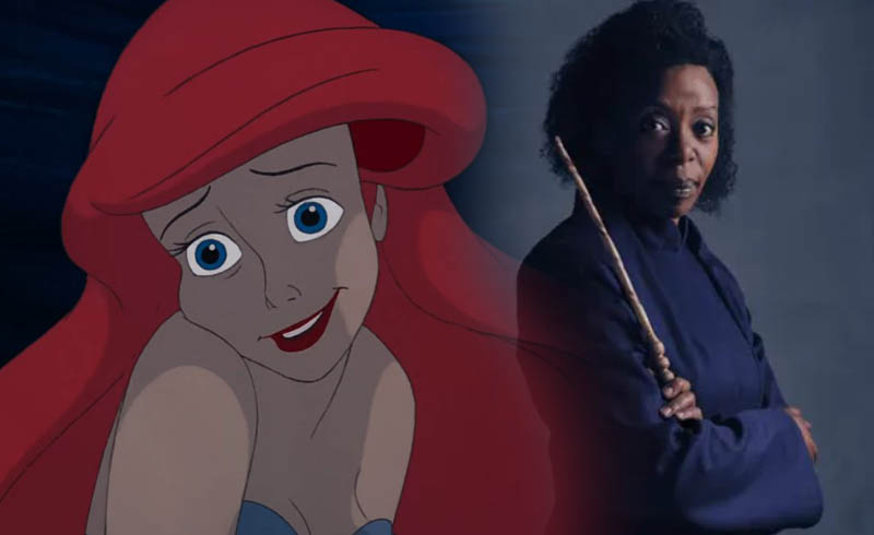 Disney's Little Mermaid Casts Harry Potter Actress