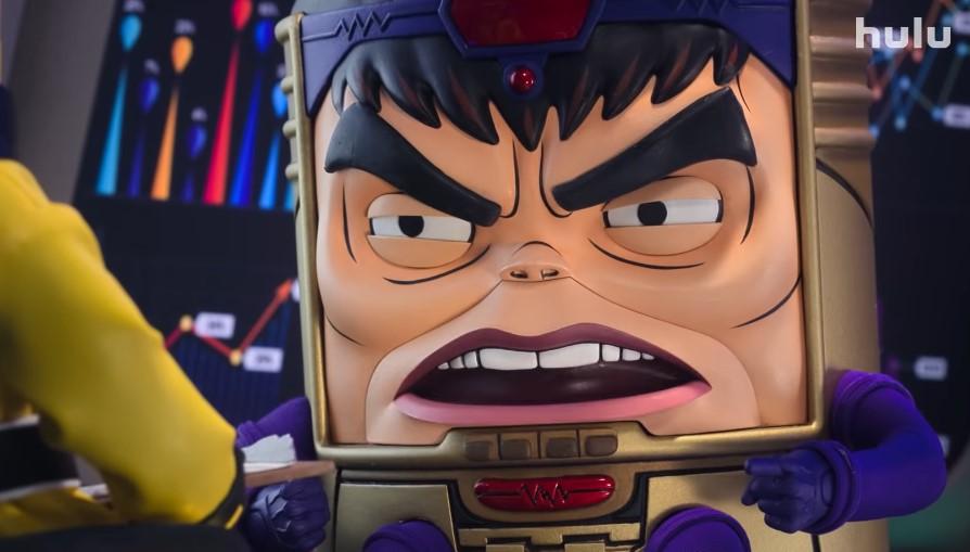 Patton Oswalt is an Evil Supervillain in New Trailer for Marvel's MODOK