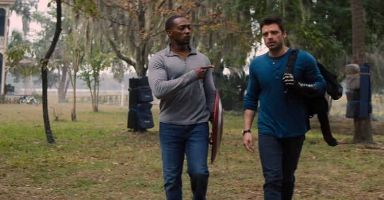 Bucky and Sam Bicker in New Clips from The Falcon and The Winter Soldier