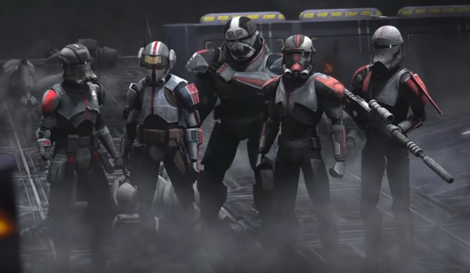 Clone Force 99 Returns in New Trailer for The Bad Batch