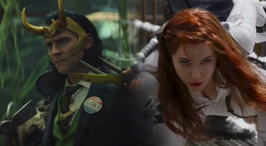 Marvel Releases New Clips for Black Widow and Loki