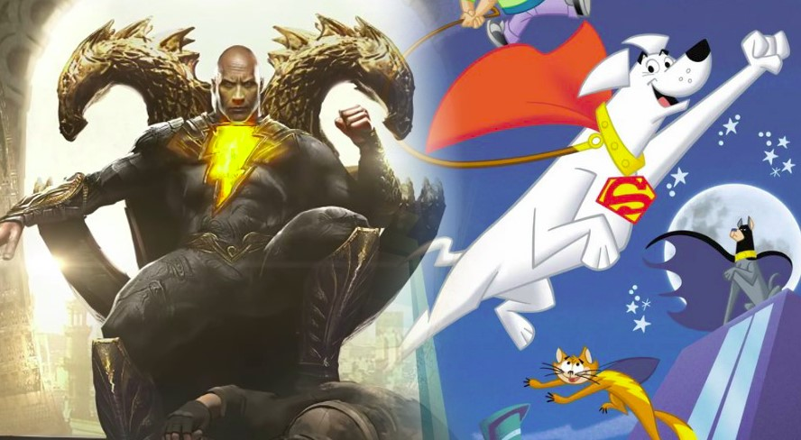 Dwayne Johnson to Voice Krypto the Super-Dog in Animated Super-Pets Movie