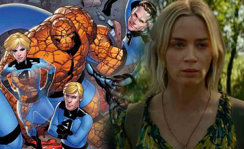 Emily Blunt isn't Interested in Being in a Fantastic Four Movie
