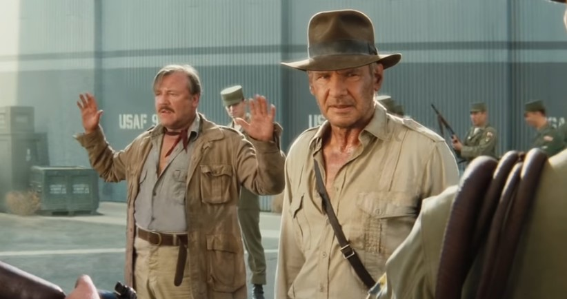 Harrison Ford and Kathleen Kennedy Reunite on Set of Indiana Jones 5