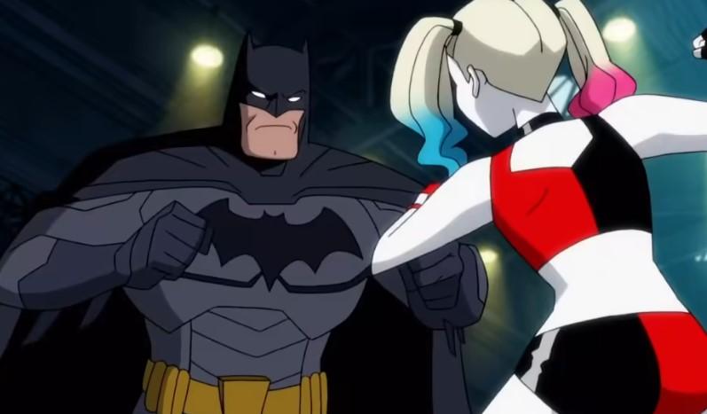 Harley Quinn Series Cuts  Kinky Batman and Catwoman Scene