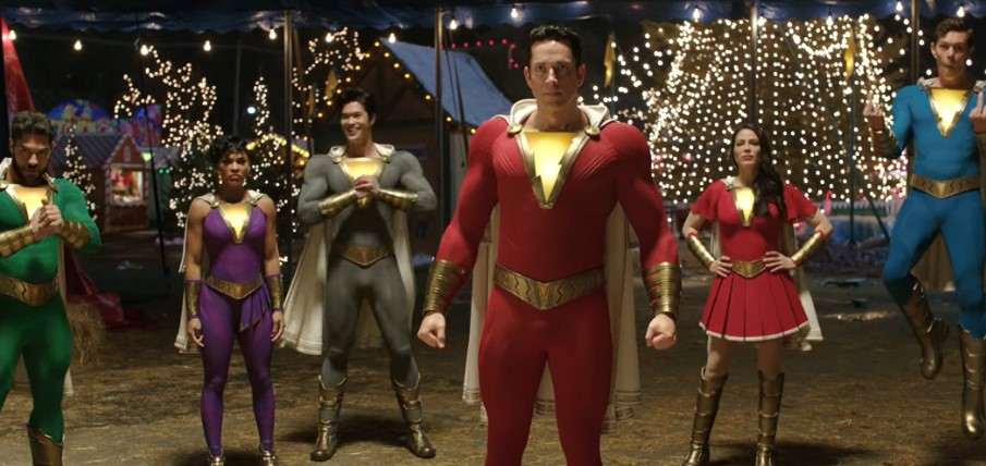 First Official Look at New Costumes of the Shazam! Family