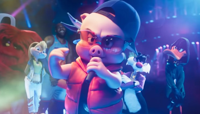 Porky Pig Raps in Sneak Peek from Space Jam: A New Legacy